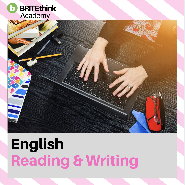 English – Reading and Writing