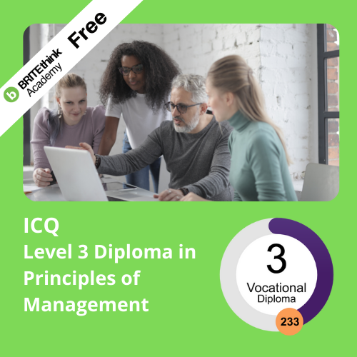 ICQ, Level 3 Diploma in Management Principles
