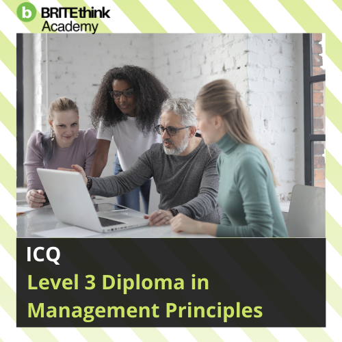 ICQ, Level 3 Diploma in Management Principles
