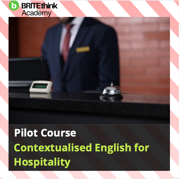 Contextualised English for Hospitality