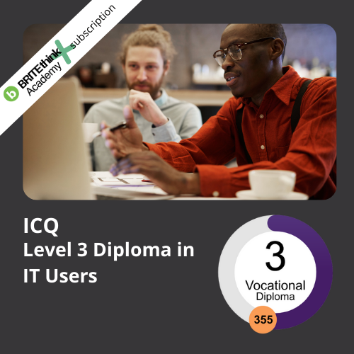 ICQ Level 3 Diploma for IT Users