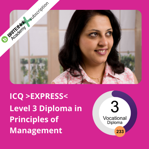 EXPRESS Level 3 Diploma Principles of Management