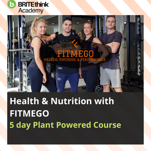 Five Day Plant Powered Course with FITMEGO