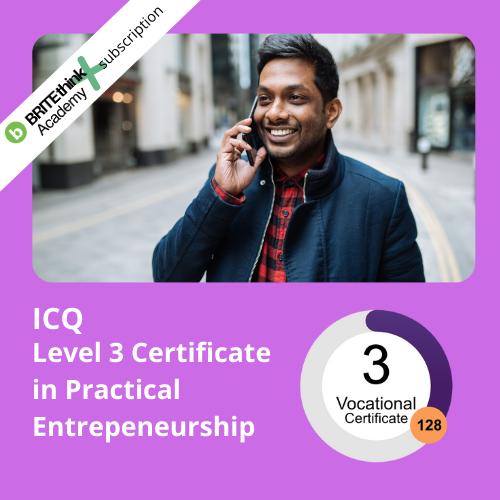 Level 3 Certificate in Practical Entrepreneurship